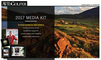 2017 Colorado AvidGolfer Media Guide