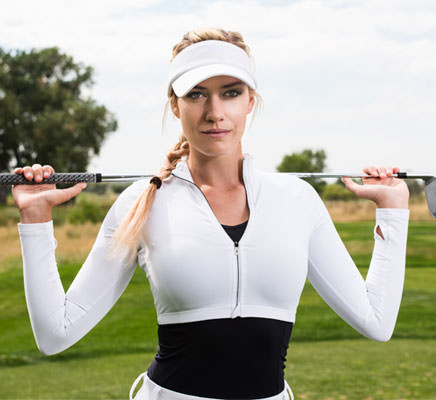 Colorado's Paige Spiranac wants you to follow her...on the LPGA Tour.