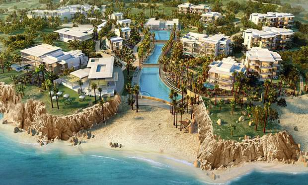 From the Mag: Highlighted by a three-tiered, 450-foot pool flowing to Chileno Bay, VieVage Los Cabos boasts waves of amenities and activities.