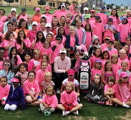 Paula Creamer Gives Colorado Girls Day to Remember
