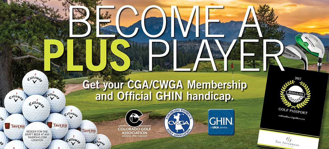 Upgrade to the Passport Plus to receive GHIN and CGA membership
