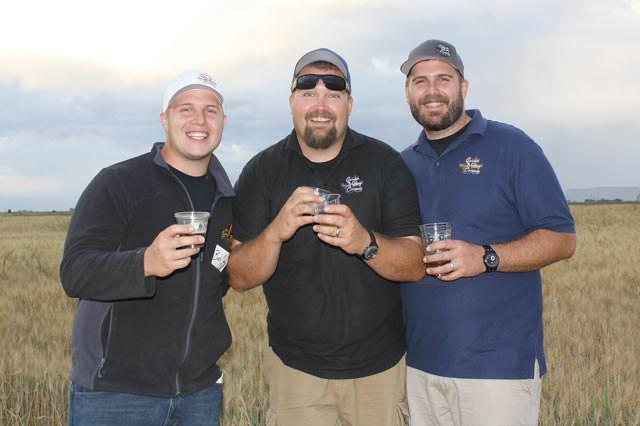 Bobby, Jason, Josh Cody of Colorado Malting Company