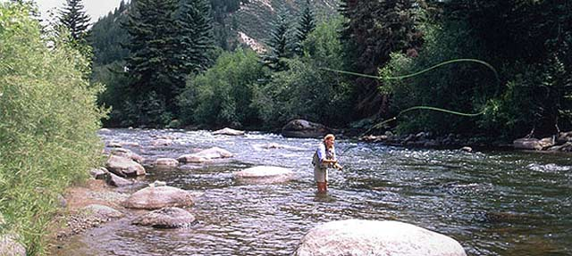 Guide to summer activities in vail colorado avidgolfer for Fly fishing vail colorado