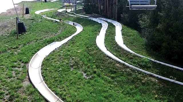 Alpine Slide at Breckenridge Fun Park