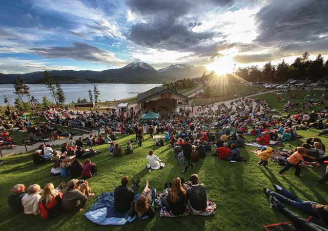 Dillon Ampitheatre, summer concerts