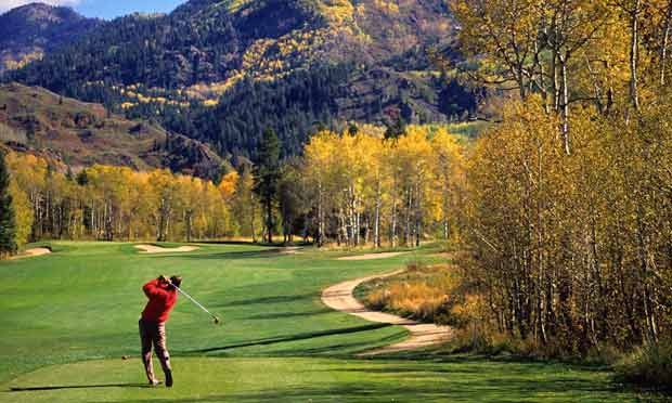 Steamboat in the fall - 12 Reasons Colorado Golfers Can Give Thanks
