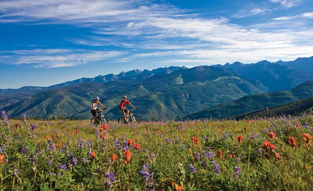 Mountain Biking in Vail