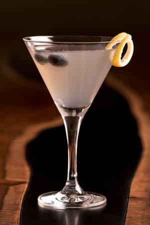 Elway's signature Blueberry Lemon Drop Martini