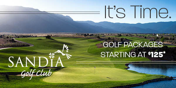 sandia golf club packages