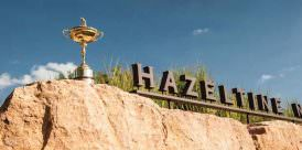 Hazeltine Golf Course, site of the 2016 Ryder Cup in Minneaplois, Minnesota, USA on August 18, 2013. (Photo by Montana Pritchard/The PGA of America)