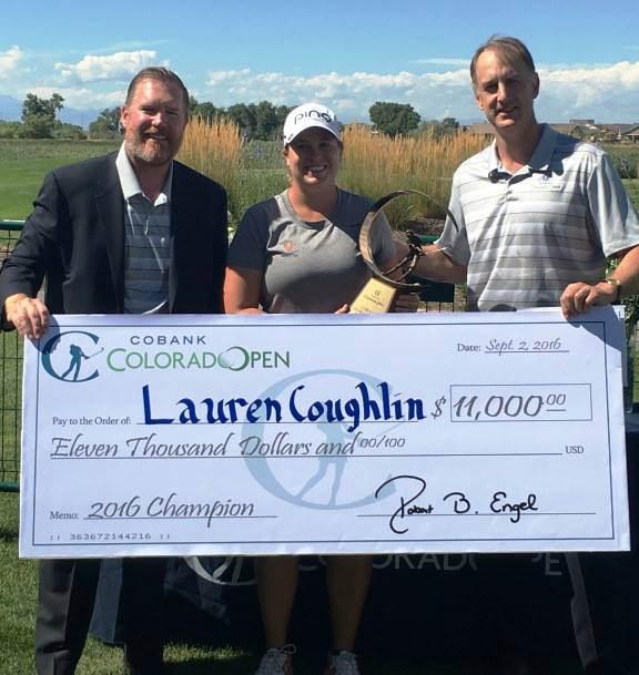 Lauren Coughlin Shatters Cobank Colorado Women S Open