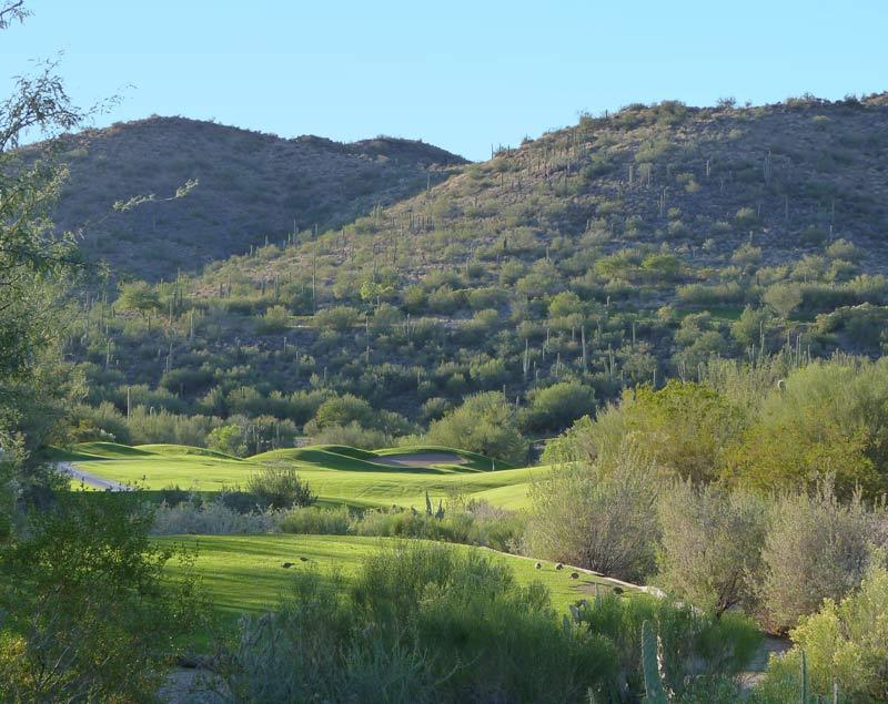 Rancho Manana 2nd hole