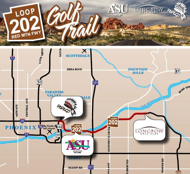 Map Of Loop 202 Arizona.Scottsdale S New Loop 202 Golf Trail Colorado Avidgolfer