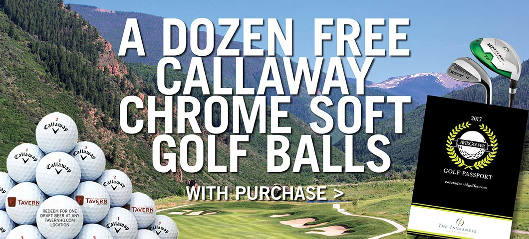 12 Callaway Chrome Soft Golf Balls with Golf Passport purchase