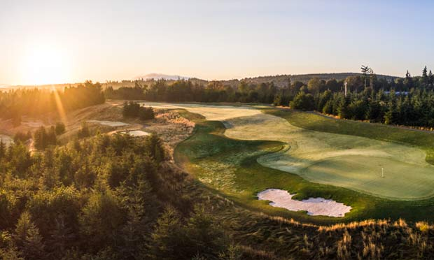 Chambers Bay and Salish Cliffs – a Spectacular Northwest Double-Act