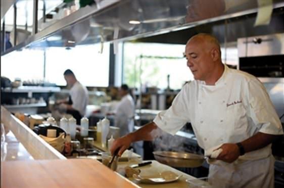 Cafe Mercato Chef and owner Giancarlo Macchiarlla