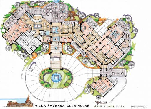 Ravenna Clubhouse and Pool Plans