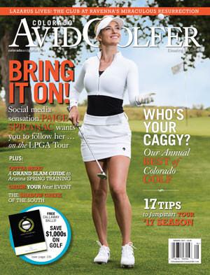 Paige Spiranac Magazine Cover - Spring 2017
