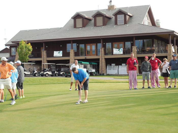 Golf Tournament Putting Contest