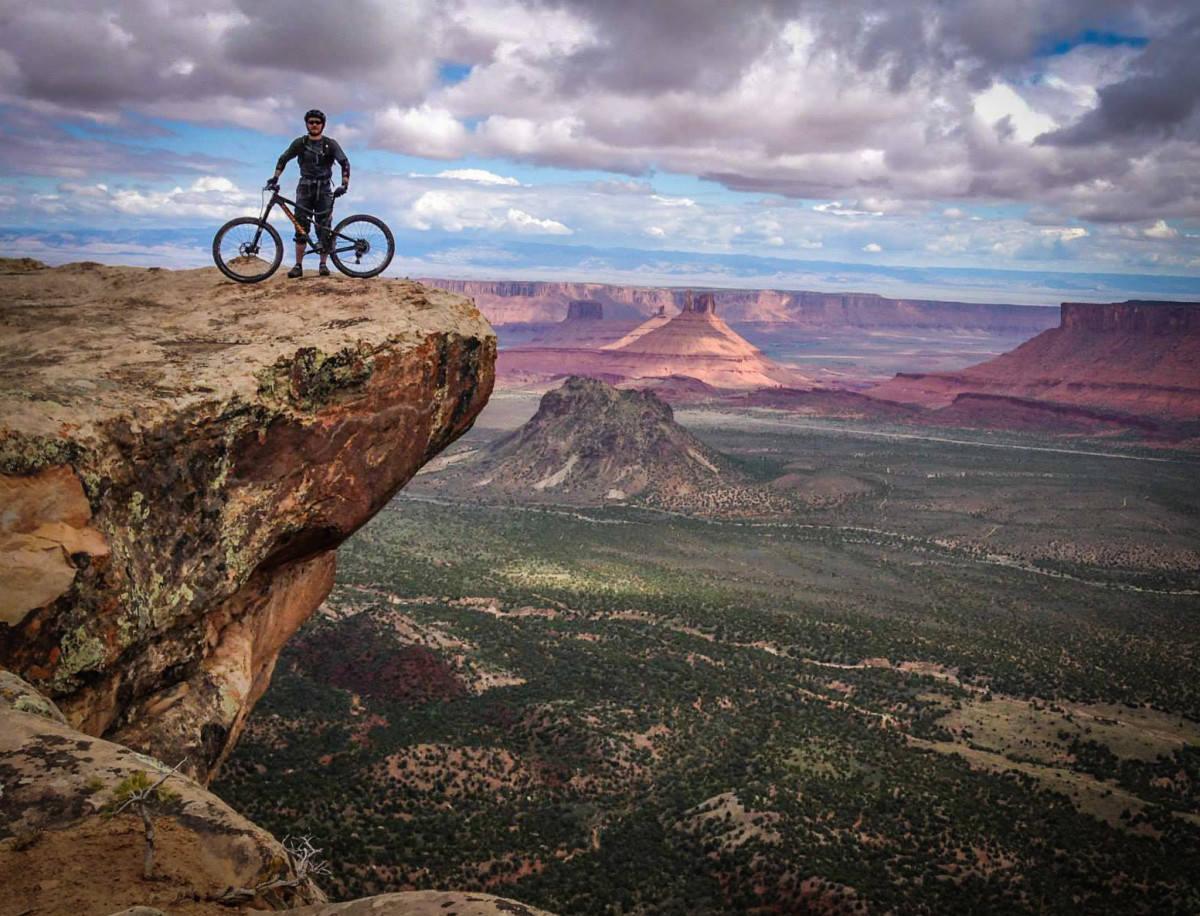 Moab Mountain Biking on Lake George Colorado Weather
