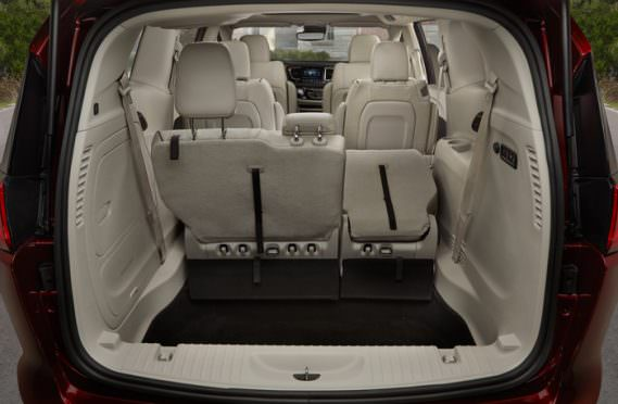 2017 Chrysler Pacifica Rear Seat