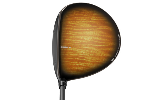 Address Position: Cobra's King F7 LE Wood Grain Driver