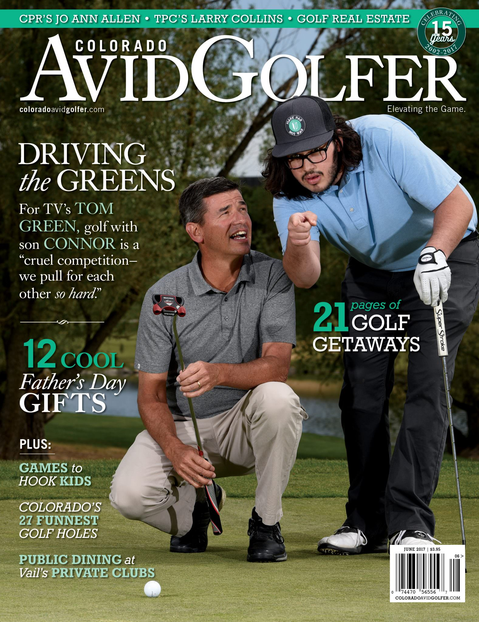 June 2017 Magazine - Colorado AvidGolfer