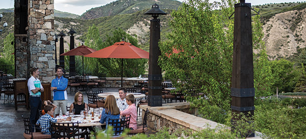 frost creek dining patio