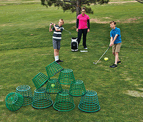 junior golf tower game