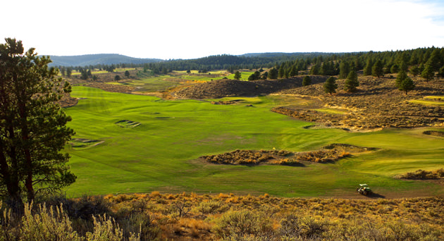 Silvies ranchland golf