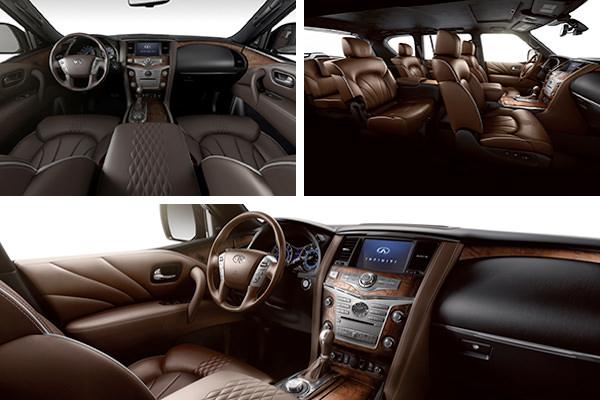 qx80 interior