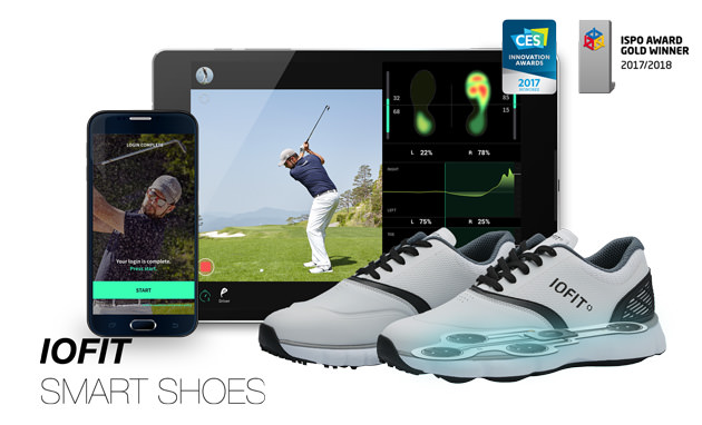 The IOFIT syncs with mobile apps for real-time anaylsis.