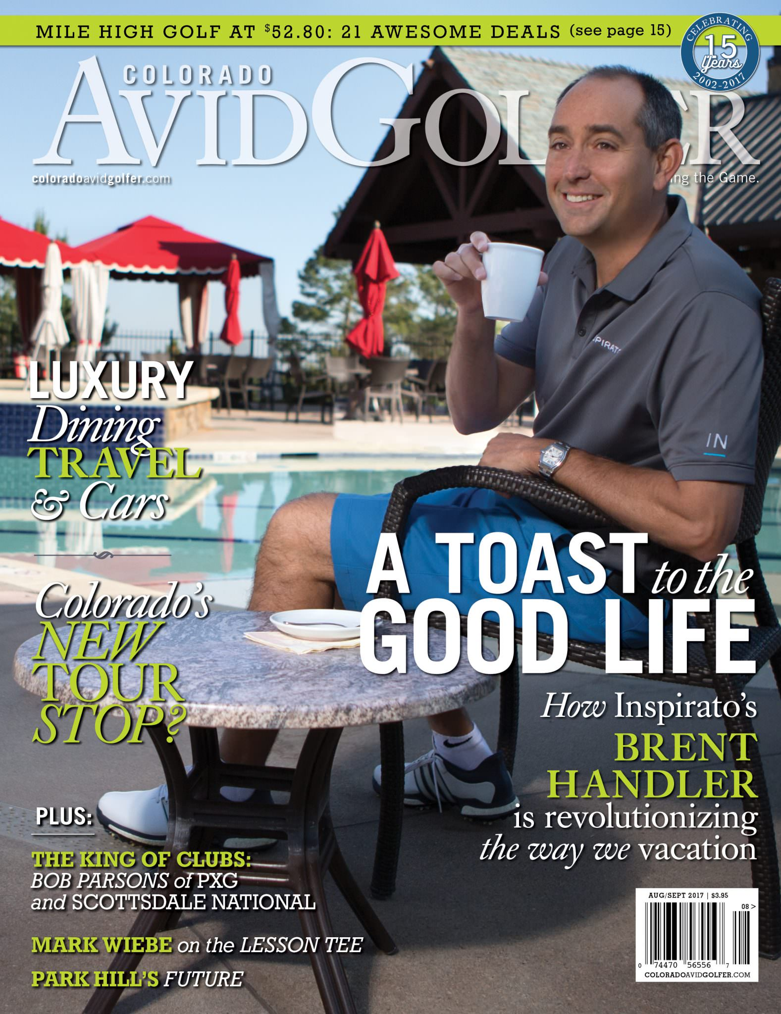 August-September 2017 Magazine - Colorado AvidGolfer