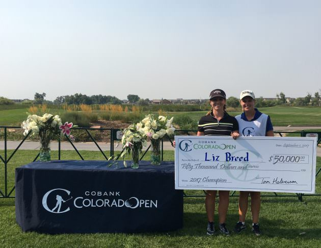 Breed Claim 50k First Prize In Cobank Colorado Women S Open