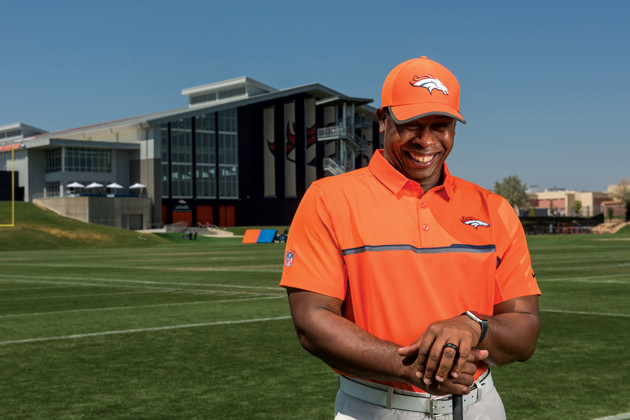 Joseph relishes the job of Broncos' head coach.