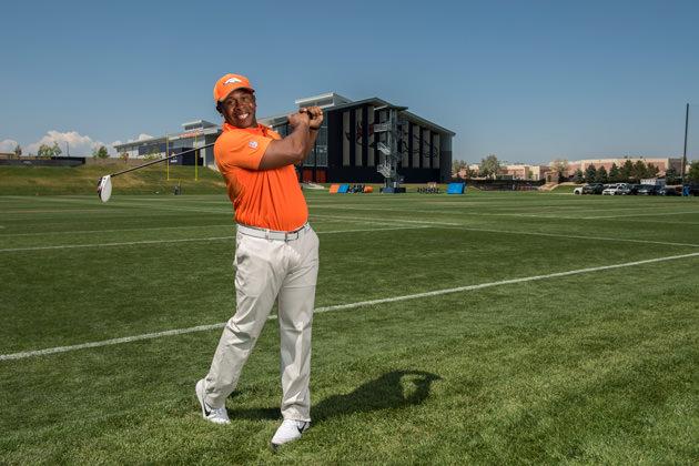 Vance Joseph swings