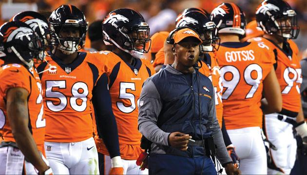 Johnson as a the Broncos' head coach.