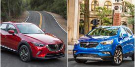 2017 Mazda CX-3 and Buick Encore