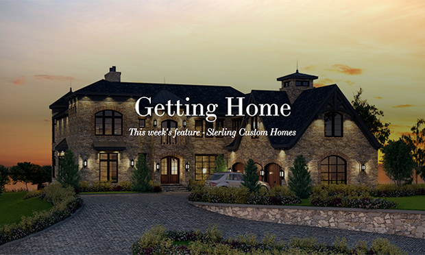 getting home real estate section - sterling homes