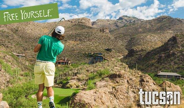 Visit Tucson, where 40 golf courses and over 300 days of sunshine per year await!