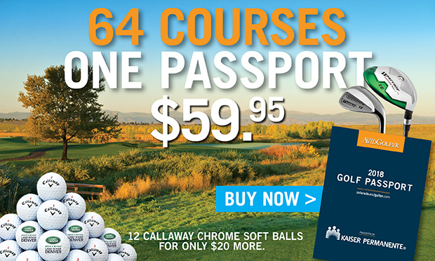 THE 2018 GOLF PASSPORT IS NOW ON SALE! GET YOURS TODAY.