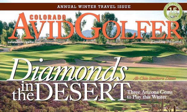 Our 2017 Winter Travel Issue Features Arizona's BEST Courses
