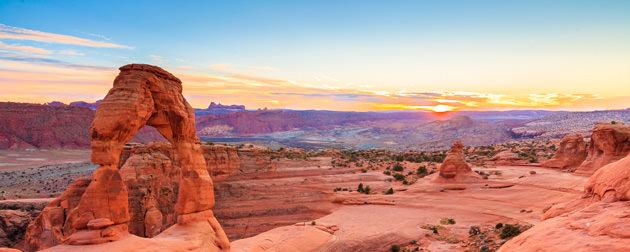 Arch near Moab, Utah