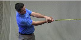 clubhead speed drill from golftec