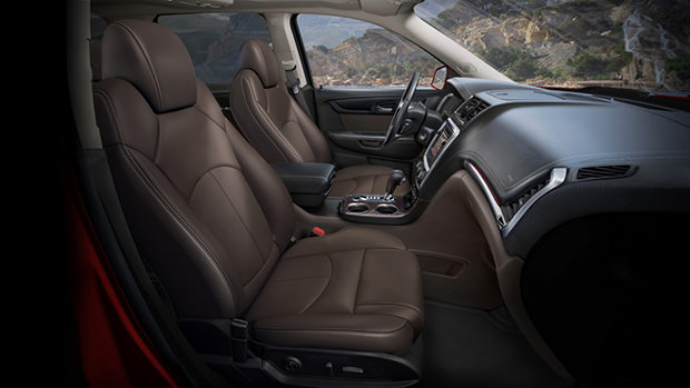2017 gmc acadia all-terrain interior