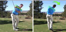 posture shoulder tilt golftec