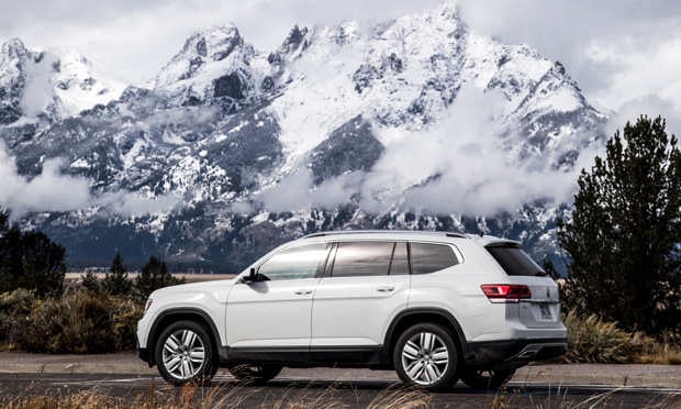 Fit Your Clubs, Skis, and the Kids with Room to Spare in the 2018 VW Atlas