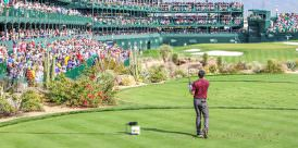 The Famed Par-3 16th at TPC Scottsdale at the WM Phoenix Open