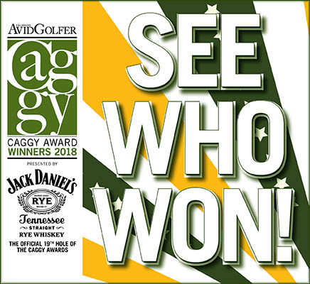 The 2018 CAGGY Award Winners Presented by Jack Daniels Rye
