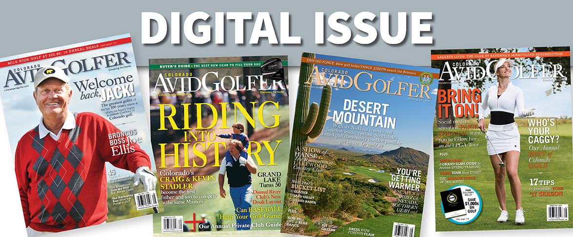 Your Home For The Digital Colorado Avidgolfer Magazine